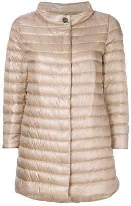 Herno padded ring neck coat