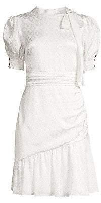 Shoshanna Women's Mischa Puff Sleeve Dress - Size 0