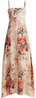 Zimmermann Laeila floral-printed linen dress