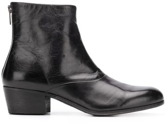 Pantanetti rear zip boots