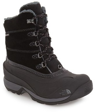 Women's The North Face 'Chilkat Iii' Waterproof Insulated Snow Boot $109.95 thestylecure.com