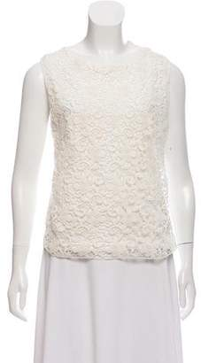 Giambattista Valli Sleeveless Lace Top