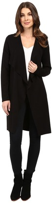 Vince Camuto Long Sleeve Drape Front Maxi Cardigan $99 thestylecure.com