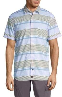 Strellson Caspar Mixed Stripe Button-Down