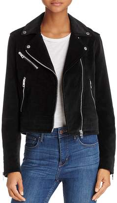 Rag & Bone Mercer Velvet Motorcycle Jacket