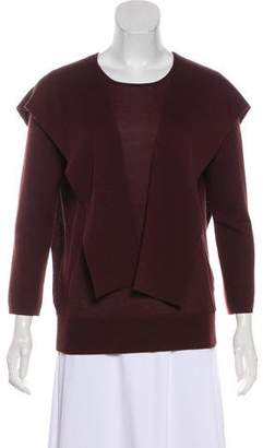 Akris Cashmere Draped Sweater