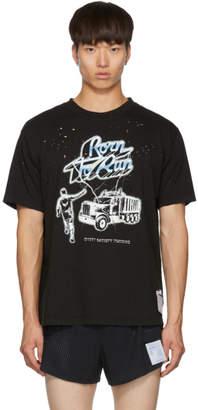 Satisfy Black Born To Run Moth Eaten T-Shirt