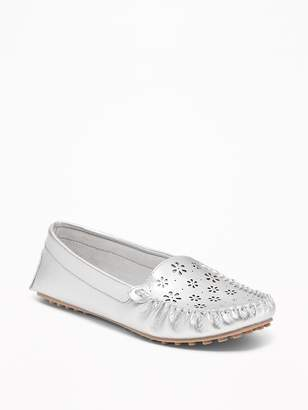 Old Navy Laser-Cut Driving Moccasins for Women