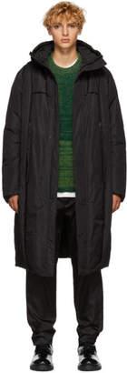 Craig Green Black Long Crinkle Down Jacket