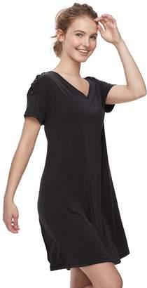 a9839b5d17e8e Mudd Juniors  Lace-Up Shoulder Dress