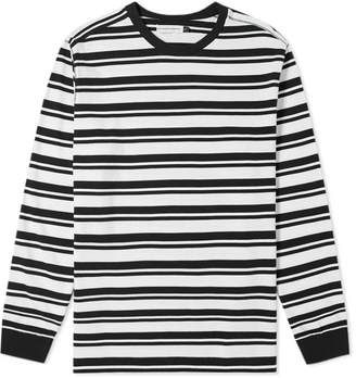 Pop Trading Company Long Sleeve Stripe Tee