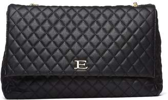 Ermanno Scervino Quilted Black Handle Bag
