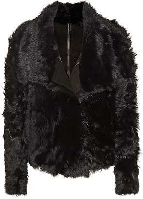 Yves Salomon Meteo Reversible lamb fur jacket