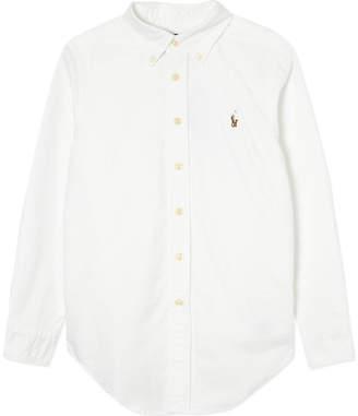 Ralph Lauren Custom fit long-sleeve shirt 8-16 years