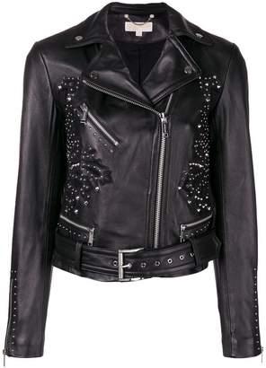 MICHAEL Michael Kors studded biker jacket