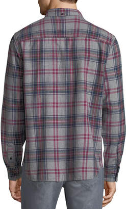 Joe's Jeans Men's Picciano Plaid Woven Shirt