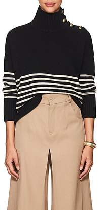 Barneys New York Women's Striped Wool-Cashmere Sweater
