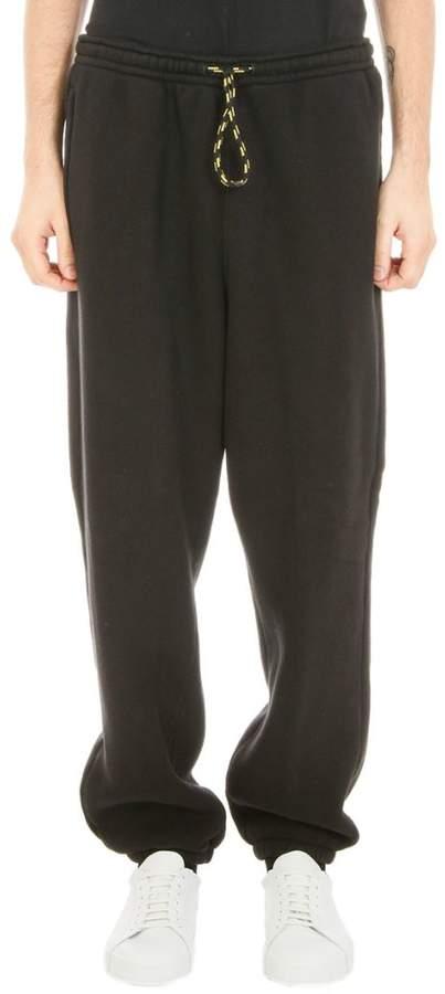 Alexander Wang Dens Fleece Black Sweatpants