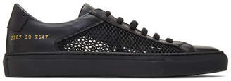 Common Projects Black Summer Edition Achilles Low Sneakers