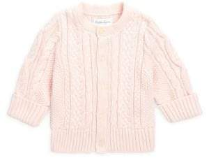 Ralph Lauren Baby Girl's Aran-Knit Cardigan