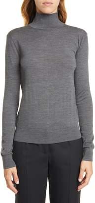 Theory Wool Mock Neck Sweater