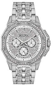 Bulova Men's Multi-Function Crystal Watch