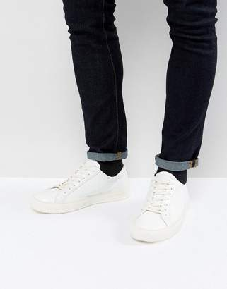 Religion Ostrich Sneakers In White