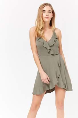 Forever 21 Ruffle Surplice Cami Dress