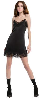 Alice + Olivia Brighton Lace Slip Cocktail Dress