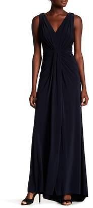 Vera Wang Matte Jersey Gown