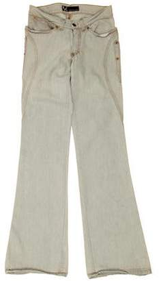 Andrew Mackenzie Low-Rise Flared Jeans w/ Tags