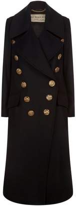 Burberry Wide Lapel Military Coat