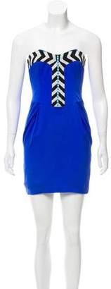 Mara Hoffman Beaded Strapless Dress