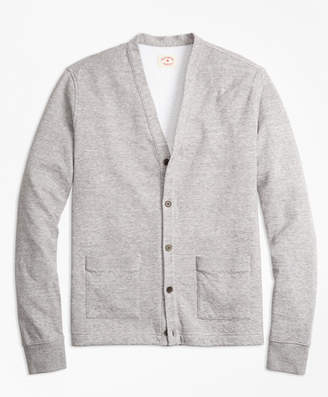 Brooks Brothers Double-Knit Pique Cardigan