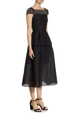 Roland Mouret Hadleigh Fit-&-Flare Dress