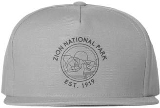 Zion Parks Project Outlines Meshback Trucker Hat