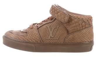 Louis Vuitton Python Acapulco Sneakers