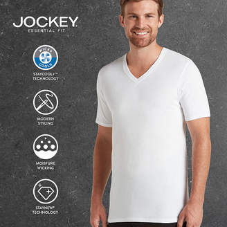 Jockey 2-pk. Staycool Plus V-Neck T-Shirts - Big & Tall