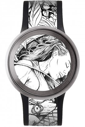 Sony Fes FES Watch U - Silver Tone 128769