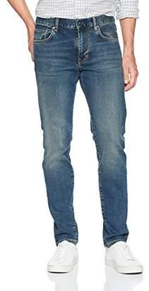 J. Lindeberg Men's Mid Wash Slim Fit Jeans