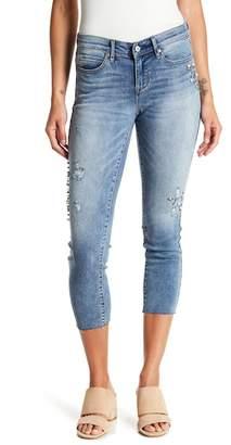 Nicole Miller New York Union Embellished Skinny Jeans
