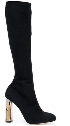 Alexander McQueen sculped heel boots