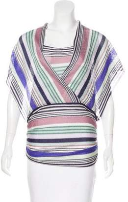 Missoni Knit Patterned Blouse