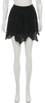 Ulla Johnson Flo Silk Mini Skirt