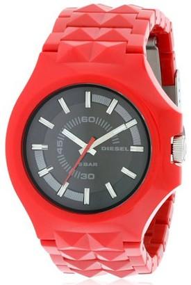 Diesel Faceted Plastic Stud Men's Watch, DZ1647
