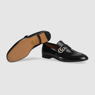 Gucci Leather loafer withGG