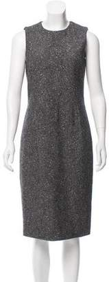Michael Kors Metallic Wool Dress