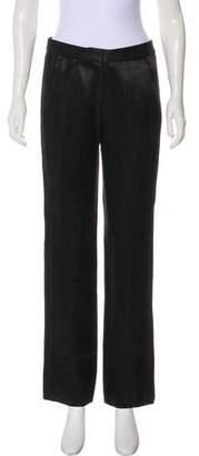 Kimora Lee Simmons High-Rise Straight-Leg Pants