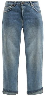 Raey Dad Baggy Boyfriend Jeans - Womens - Light Blue