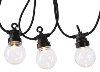 Harrods LED Outdoor Clear Globe Twinkle Lights (9.5m)